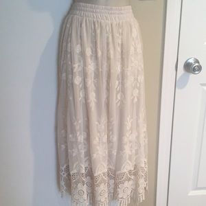 Dresses & Skirts - Lace maxi skirt